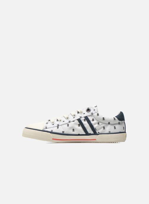 Sneakers Pepe jeans Serthi Skulls Wit voorkant