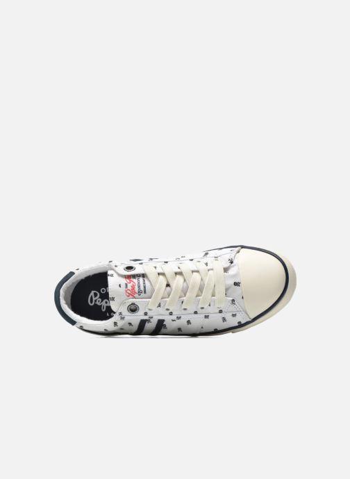Sneakers Pepe jeans Serthi Skulls Wit links