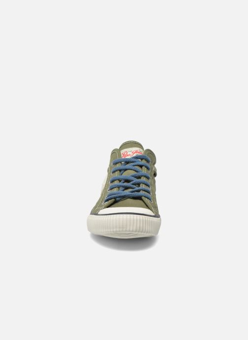 Baskets Pepe jeans Industry Basic Boy Vert vue portées chaussures