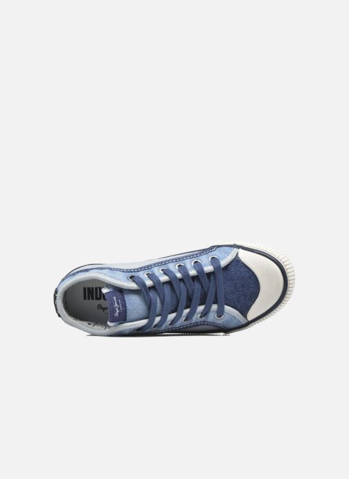 Trainers Pepe jeans Industry Basic Boy Blue view from the left