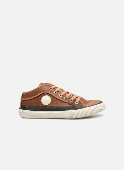 Sneakers Pepe jeans Industry Basic Boy Marrone immagine posteriore