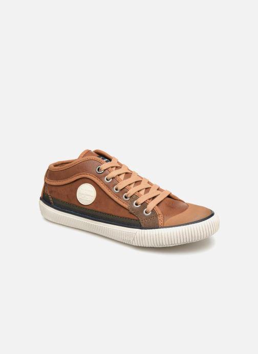 Sneakers Pepe jeans Industry Basic Boy Marrone vedi dettaglio/paio