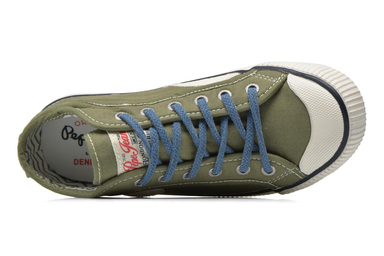 Sneakers Pepe jeans Industry Basic Boy Groen links