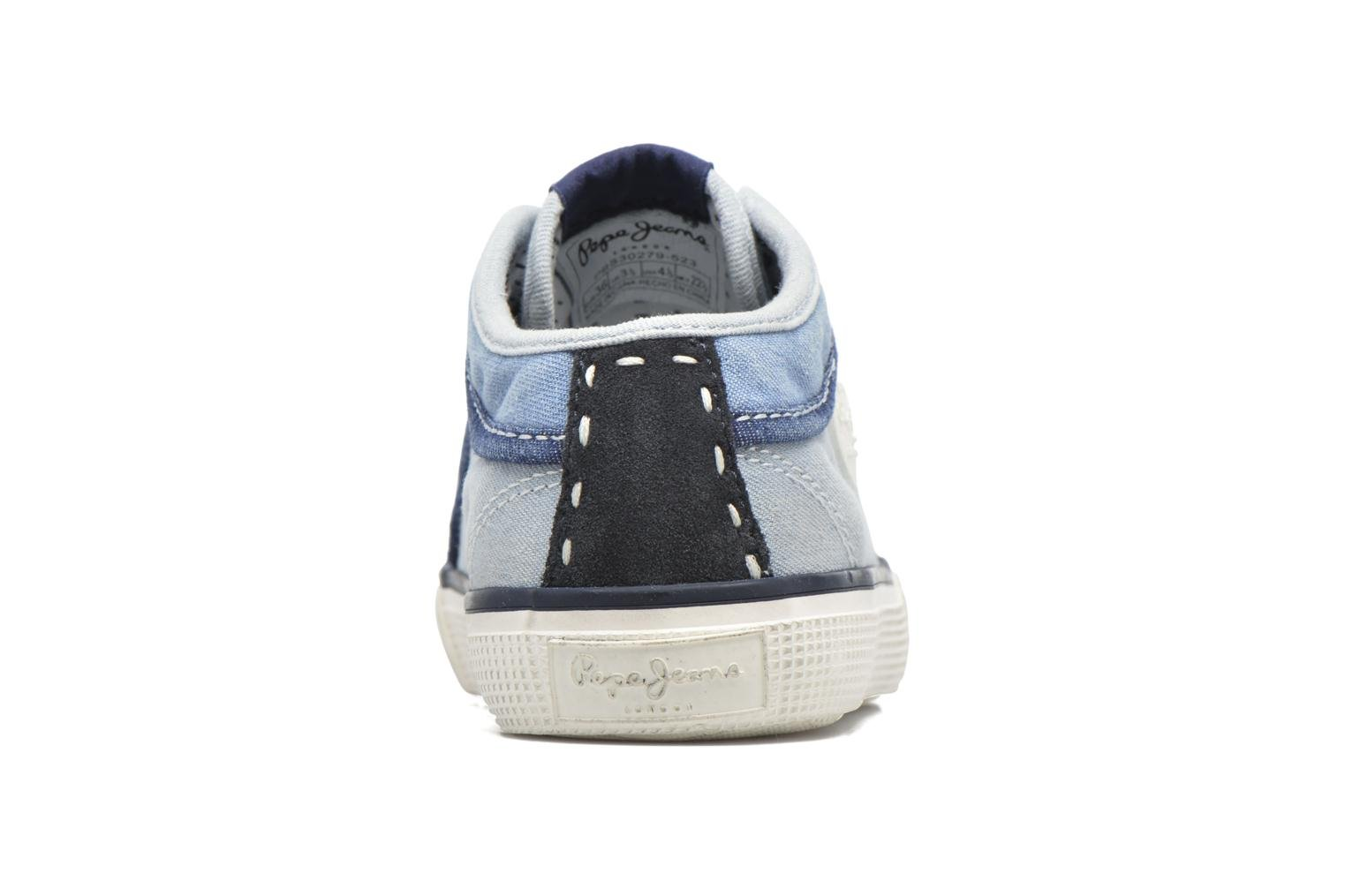 Sneakers Pepe jeans Industry Basic Boy Blauw rechts
