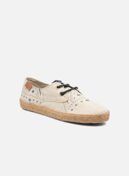 Espadrillos Pepe jeans &Bahati Abat Junior Beige detaljeret billede af skoene