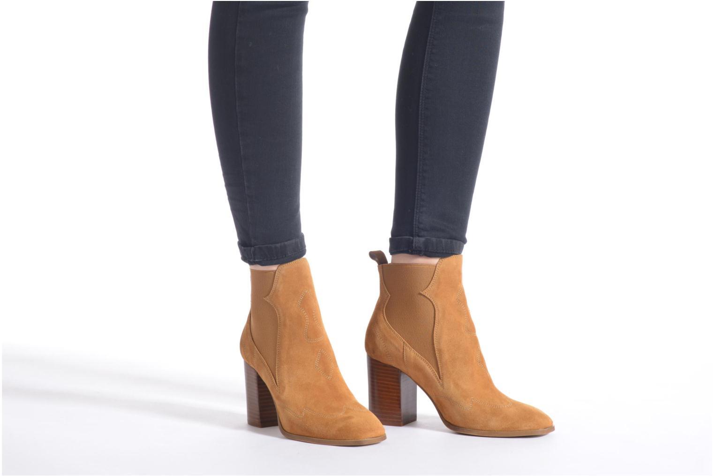 Stiefeletten & Boots Made by SARENZA Western Fever #8 braun ansicht von unten / tasche getragen
