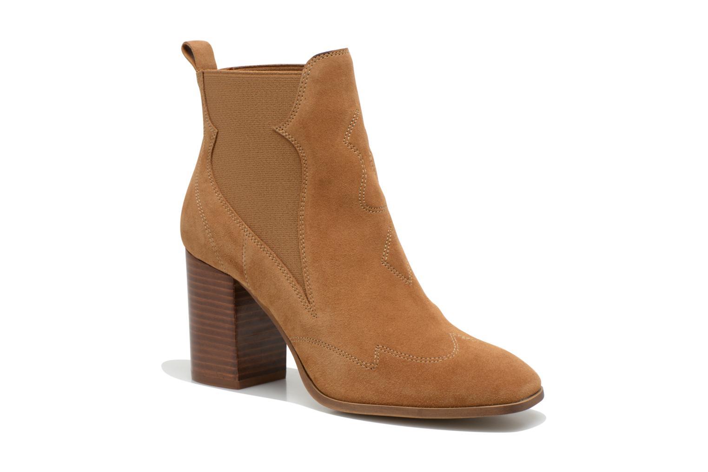 Stiefeletten & Boots Made by SARENZA Western Fever #8 braun ansicht von rechts