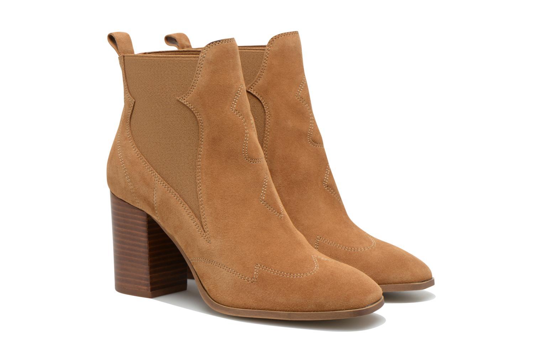 Stiefeletten & Boots Made by SARENZA Western Fever #8 braun ansicht von hinten