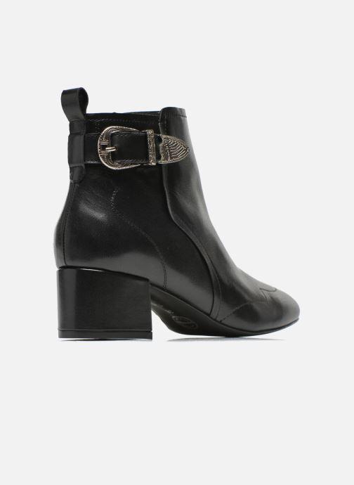 Bottines et boots Made by SARENZA UrbAfrican Boots #2 Noir vue face