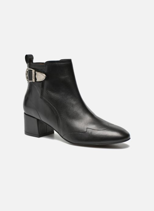 Bottines et boots Made by SARENZA UrbAfrican Boots #2 Noir vue droite