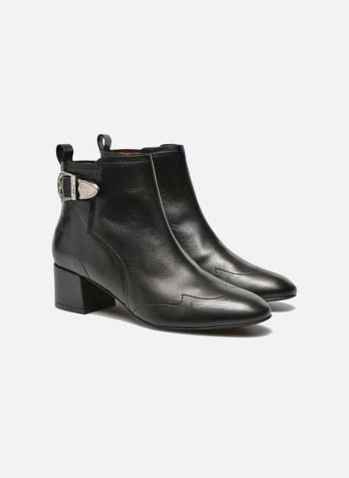 Bottines et boots Made by SARENZA UrbAfrican Boots #2 Noir vue derrière