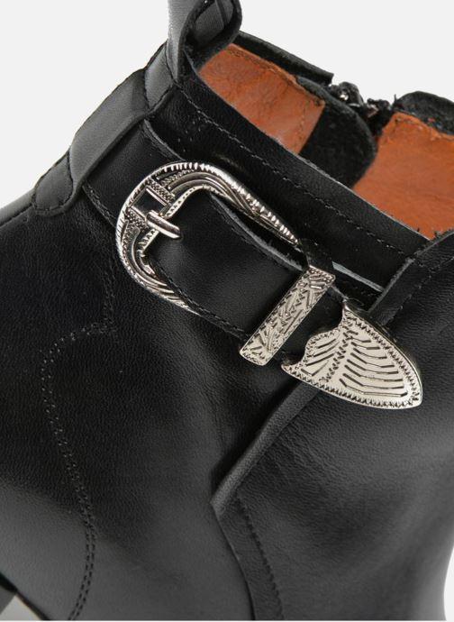 Bottines et boots Made by SARENZA UrbAfrican Boots #2 Noir vue gauche