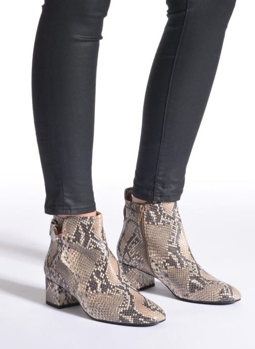 Bottines et boots Made by SARENZA UrbAfrican Boots #2 Multicolore vue bas / vue portée sac