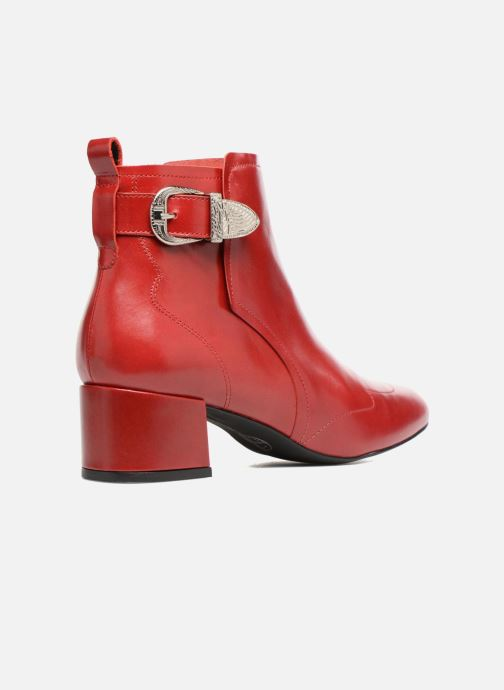 Bottines et boots Made by SARENZA UrbAfrican Boots #2 Rouge vue face