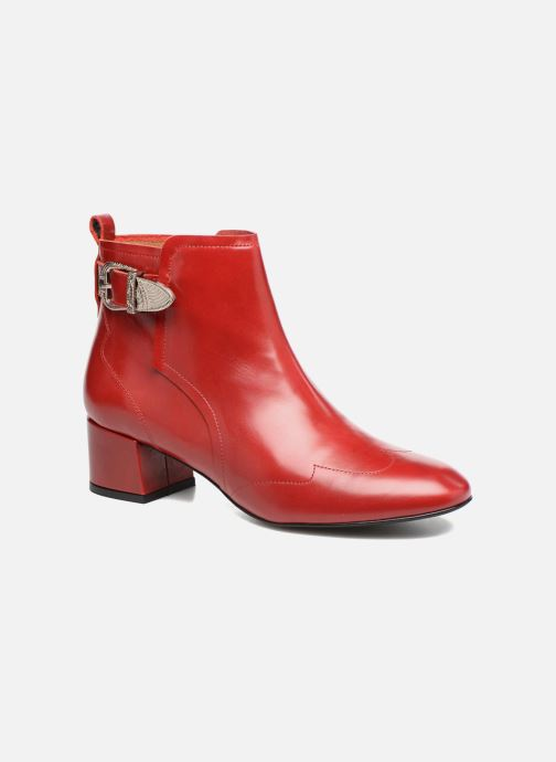 Bottines et boots Made by SARENZA UrbAfrican Boots #2 Rouge vue droite