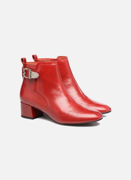 Boots en enkellaarsjes Made by SARENZA UrbAfrican Boots #2 Rood achterkant