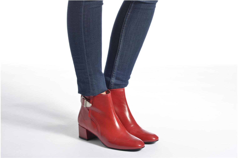 Stiefeletten & Boots Made by SARENZA Toundra Girl Bottines à Talons #9 rot ansicht von unten / tasche getragen