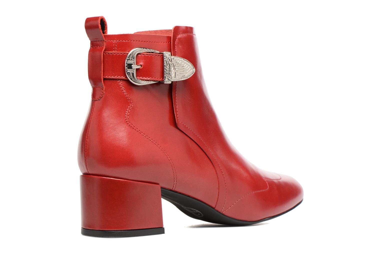 Stiefeletten & Boots Made by SARENZA Toundra Girl Bottines à Talons #9 rot ansicht von vorne