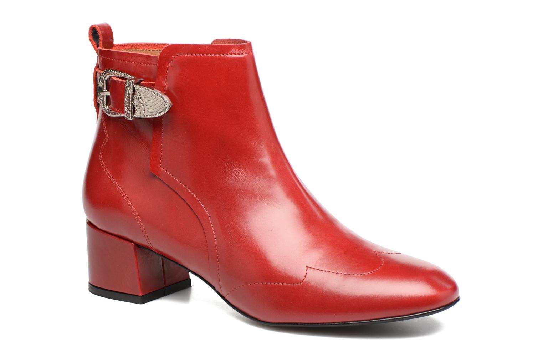 Stiefeletten & Boots Made by SARENZA Toundra Girl Bottines à Talons #9 rot ansicht von rechts