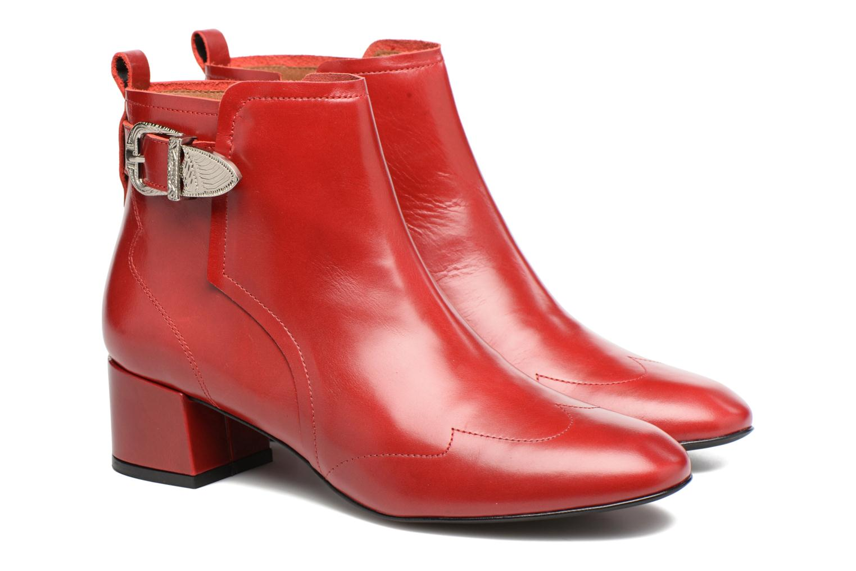 Stiefeletten & Boots Made by SARENZA Toundra Girl Bottines à Talons #9 rot ansicht von hinten