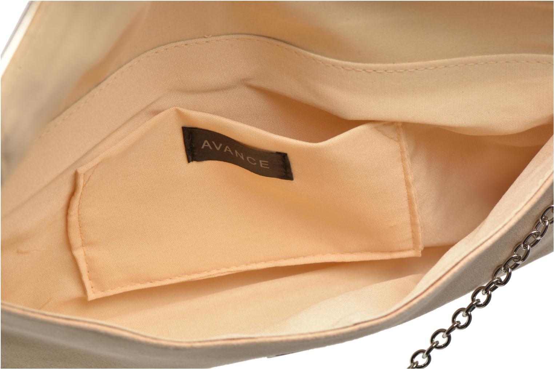 Clutch bags Menbur Ampere Beige back view
