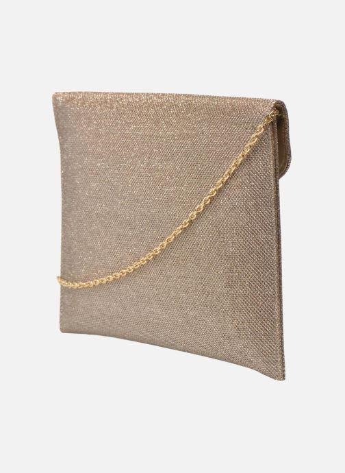 Sacs pochettes Menbur Neretva Or et bronze vue droite