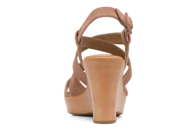 Sandales et nu-pieds Unisa Rodri Marron vue droite