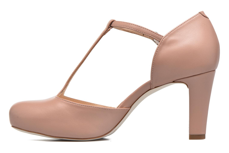 Zapatos de tacón Unisa Netan Rosa vista de frente