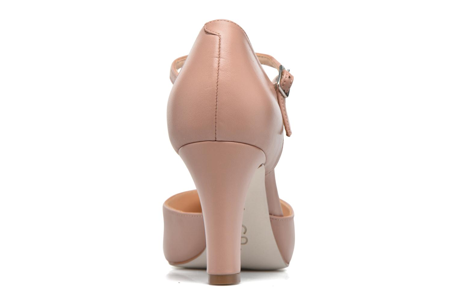High heels Unisa Netan Pink view from the right