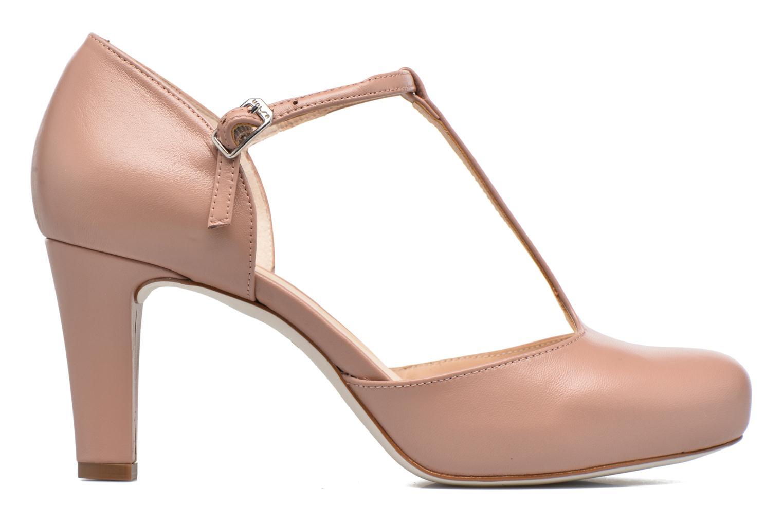 High heels Unisa Netan Pink back view