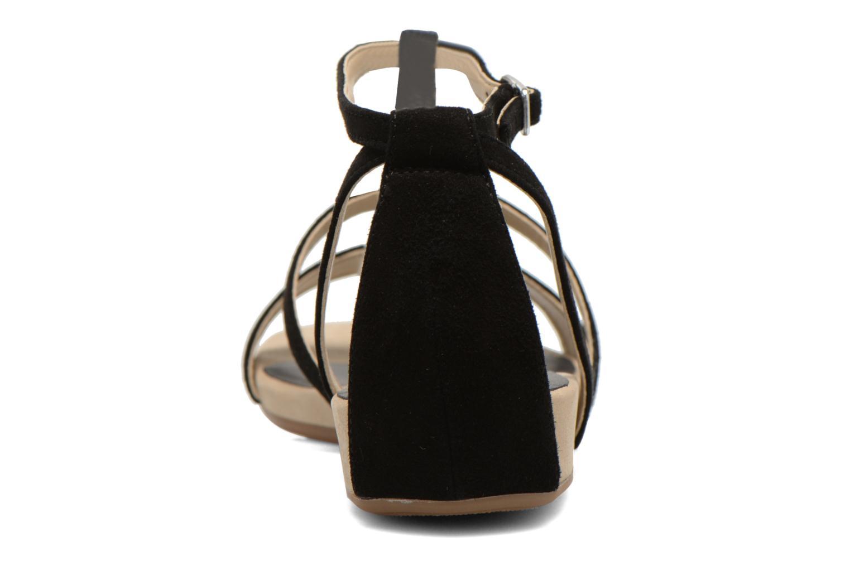 Sandales et nu-pieds Unisa Aniol Noir vue droite