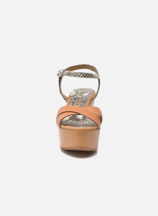Sandalen Unisa Rena mehrfarbig schuhe getragen