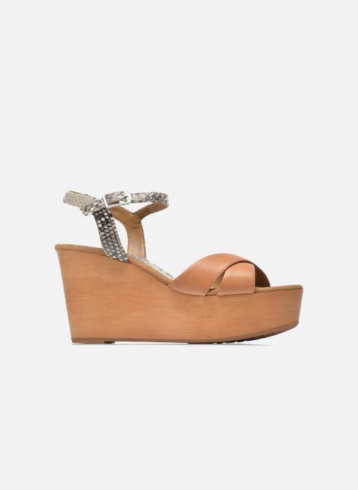 Sandales et nu-pieds Unisa Rena Multicolore vue derrière