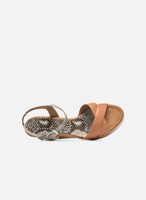 Sandales et nu-pieds Unisa Rena Multicolore vue gauche