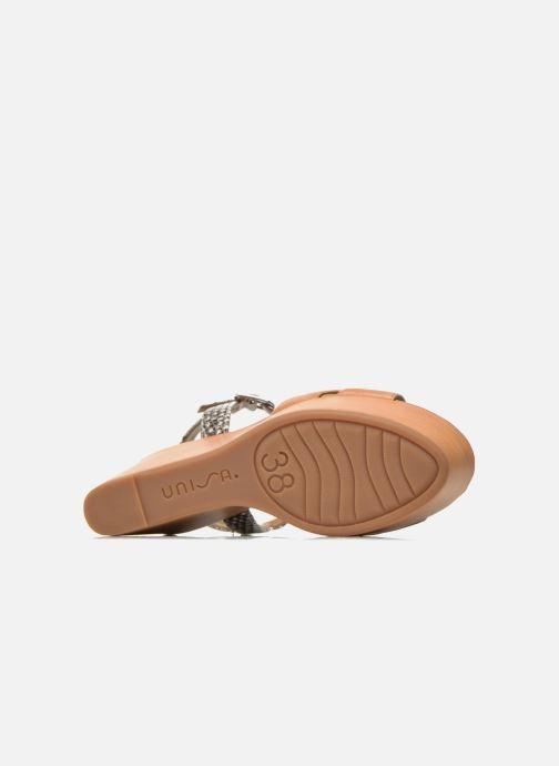 Sandales et nu-pieds Unisa Rena Multicolore vue haut
