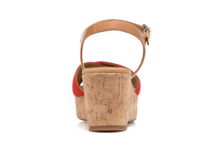 Sandales et nu-pieds Unisa Kiber Rouge vue droite