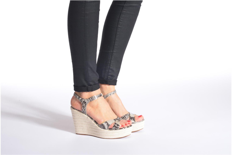 Sandales et nu-pieds Unisa Morga Multicolore vue bas / vue portée sac
