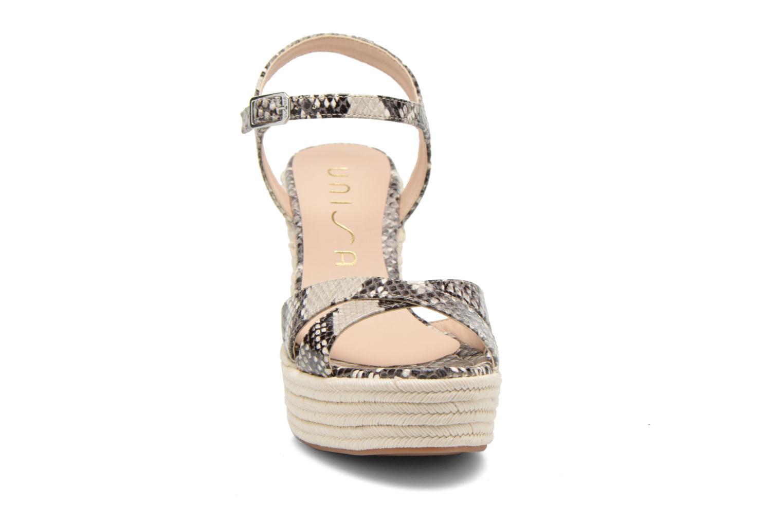 Sandales et nu-pieds Unisa Morga Multicolore vue portées chaussures