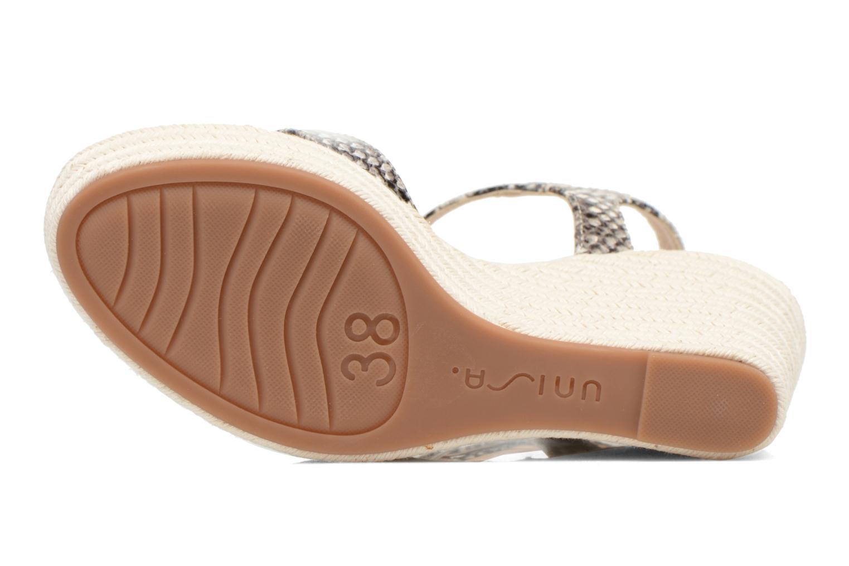 Sandales et nu-pieds Unisa Morga Multicolore vue haut