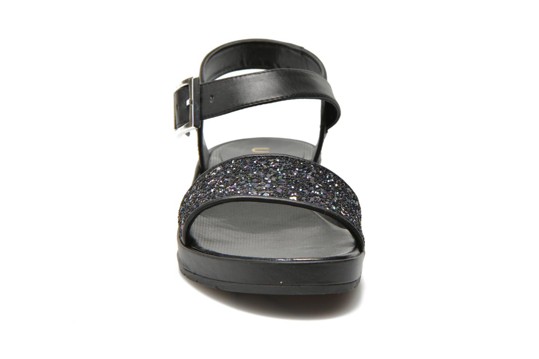Sandales et nu-pieds Unisa Bojan Noir vue portées chaussures
