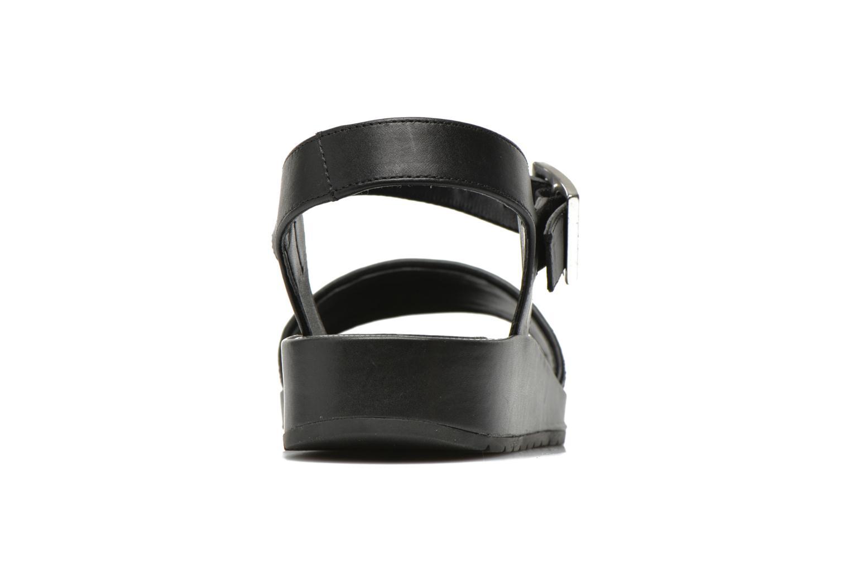 Sandales et nu-pieds Unisa Bojan Noir vue droite