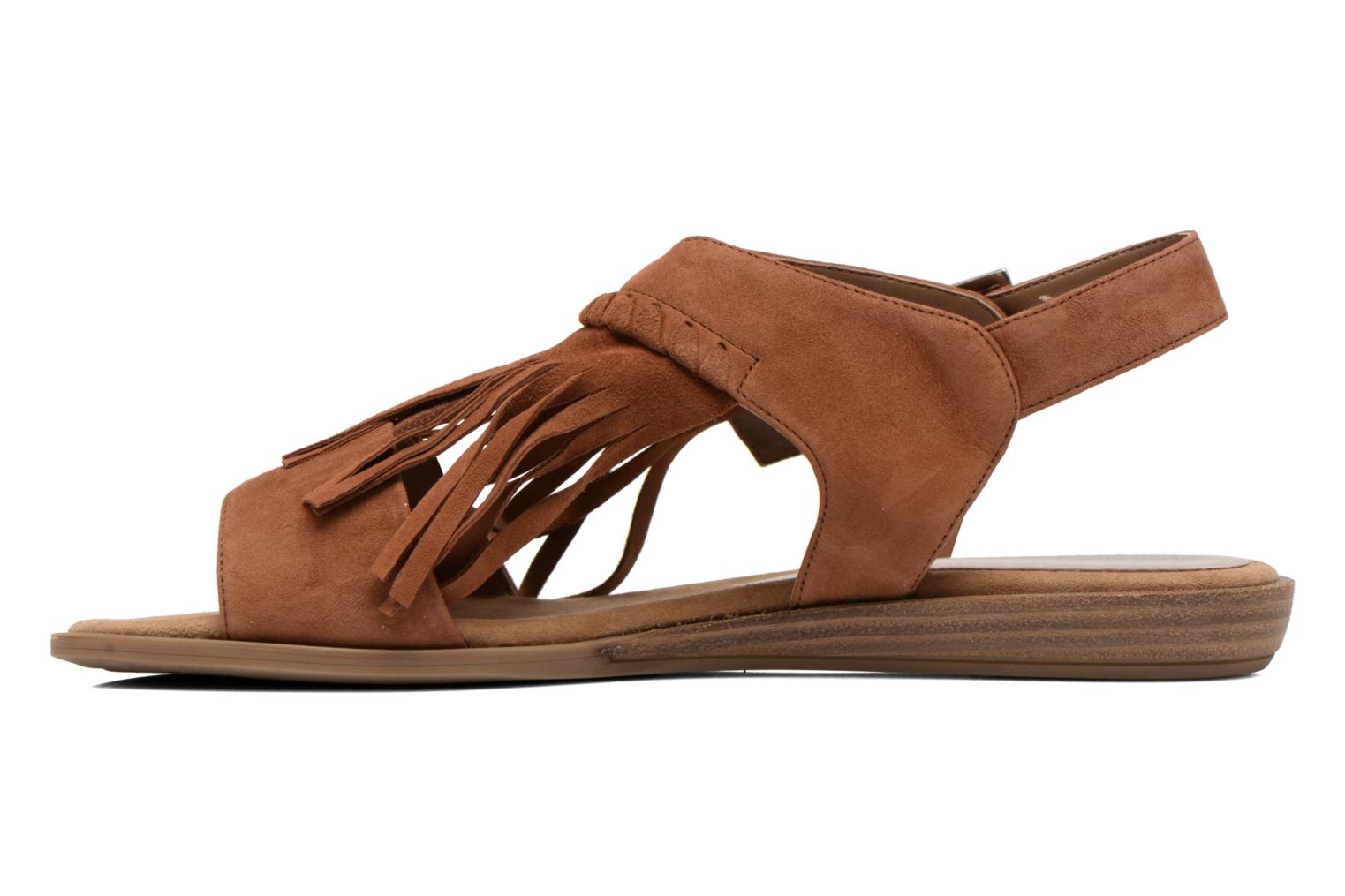 Sandals Unisa Amolo Brown front view