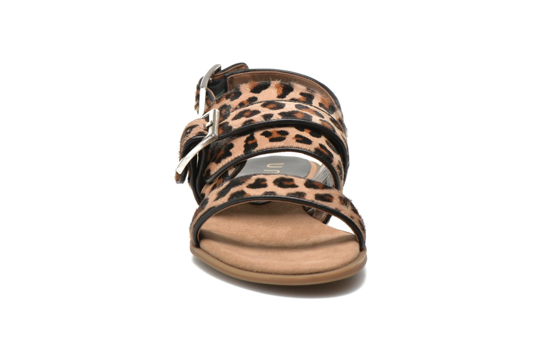 Sandales et nu-pieds Unisa Adore Marron vue portées chaussures