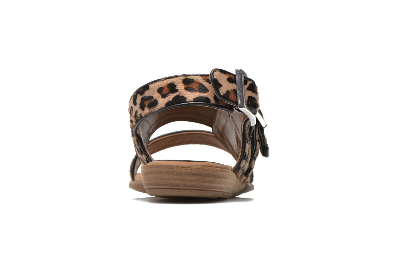 Sandales et nu-pieds Unisa Adore Marron vue droite