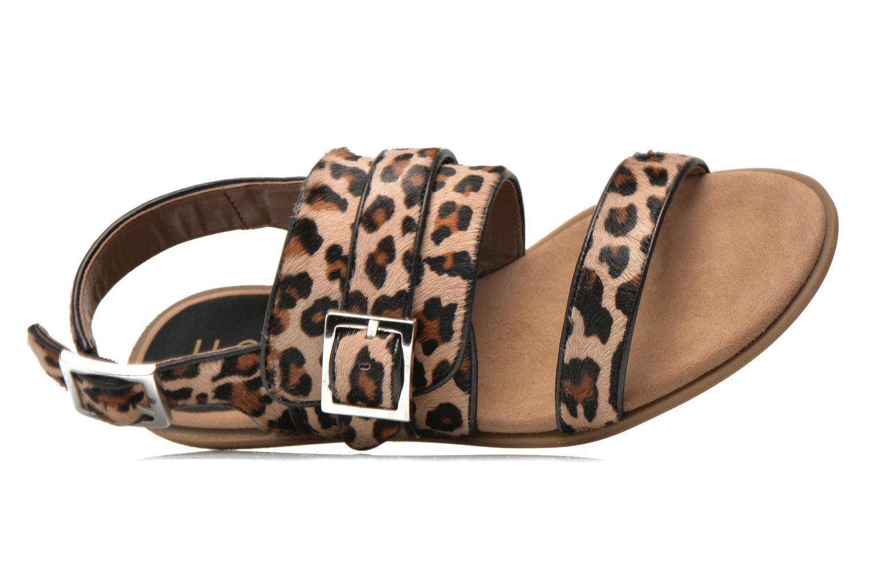 Sandales et nu-pieds Unisa Adore Marron vue gauche