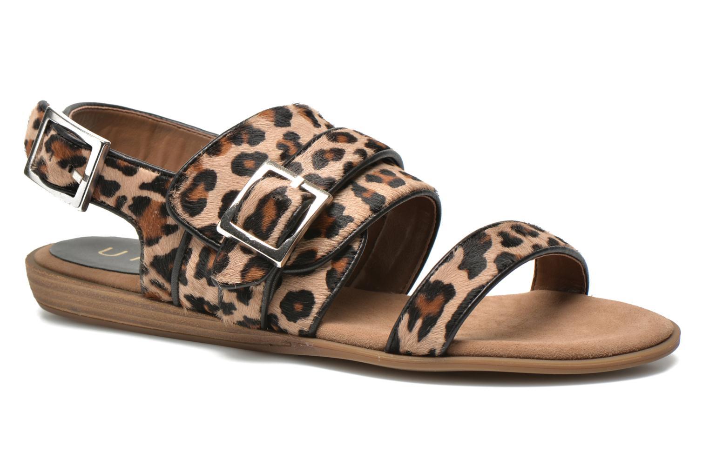 Sandaler Unisa Adore Brun detaljeret billede af skoene