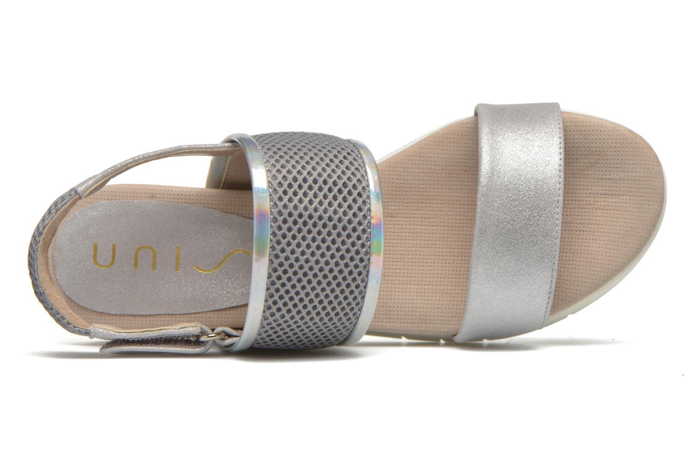 Sandali e scarpe aperte Unisa Barce Argento immagine sinistra
