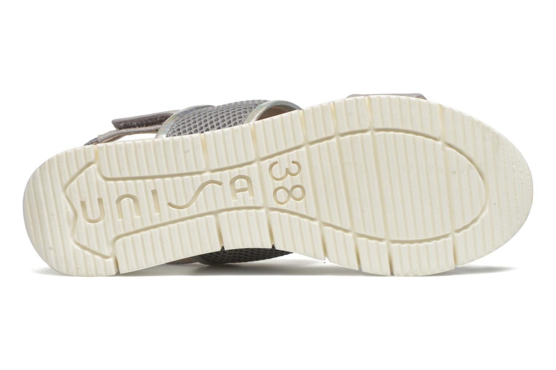 Sandali e scarpe aperte Unisa Barce Argento immagine dall'alto
