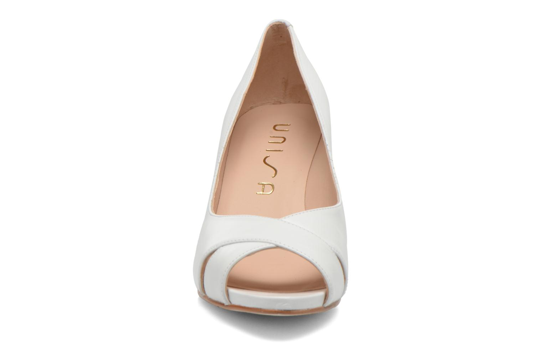 Escarpins Unisa Lamis Blanc vue portées chaussures
