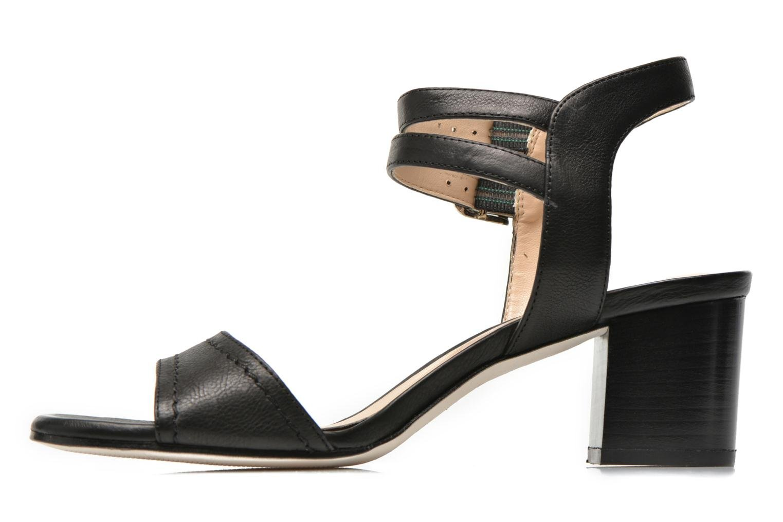 Sandales et nu-pieds Unisa Osen Noir vue face
